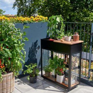 Petite serre de jardin avec plan de travail - 0.33x0.71m - Urban Vertical - Juliana - 0.25m² (Vue 0)