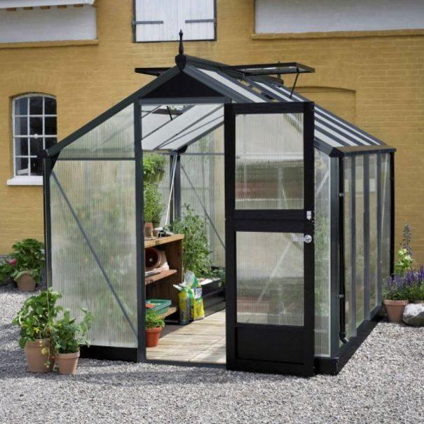 Petite serre de jardin - 2.24x2.24m - Compact - Juliana - 5.0m² (Vue 4)