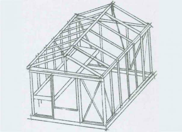 Serre gothique autonome - Structure aluminium - Euro Maxi Victorian (Vue 9)