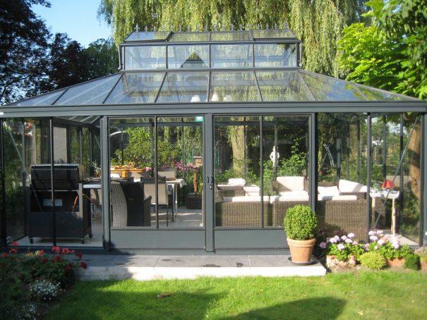 Serre d'agrément Orangerie - Structure aluminium - Euro Royal (Vue 2)
