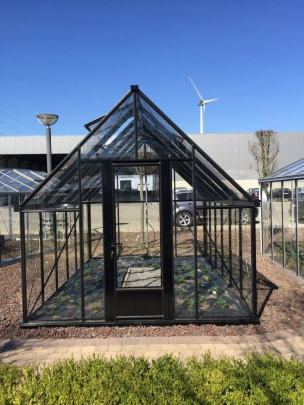 Serre victorienne classique pentes prononcées - Structure aluminium - Euro Rustiq Victorian (Vue 3)