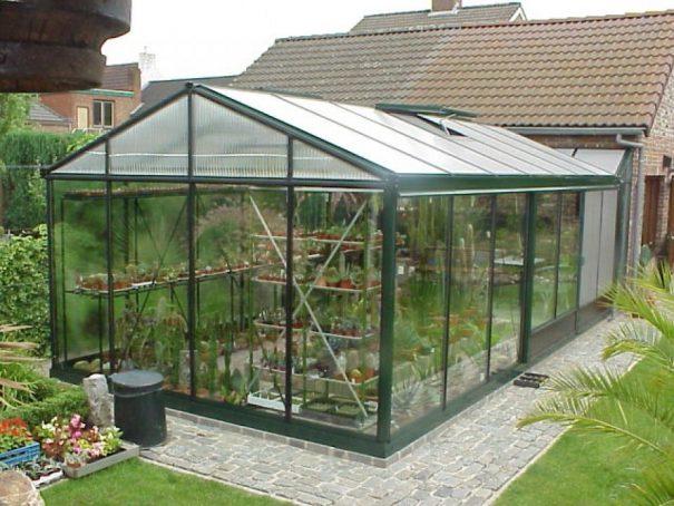 Serre de culture tropicale victorian - Structure aluminium - Tropic Maxi Victorian (Vue 2)