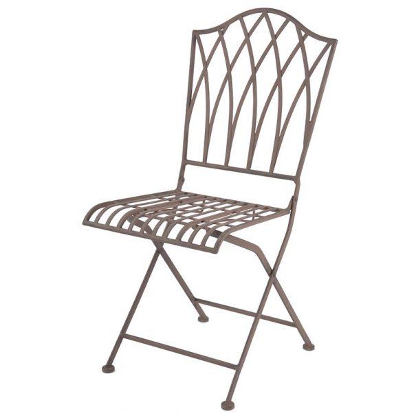 Chaise pliable métal (Vue 0)