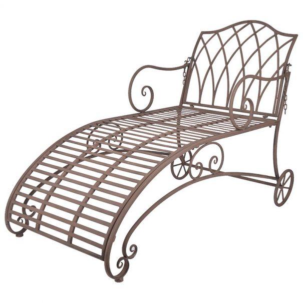 Chaise longue métal (Vue 0)
