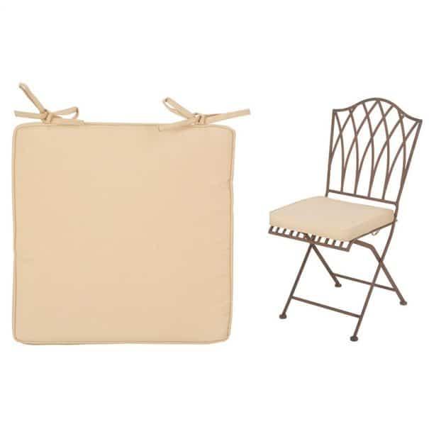 Coussin pour chaise pliable métal (Vue 0)