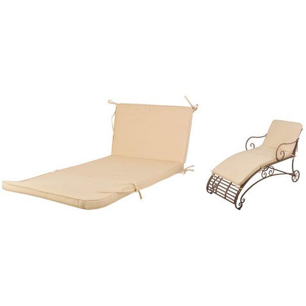 Coussin pour chaise longue métal (Vue 0)