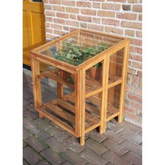 Mini serre de culture - Structure en bois de Feuillus - Mini serre en bois (Vue 0)