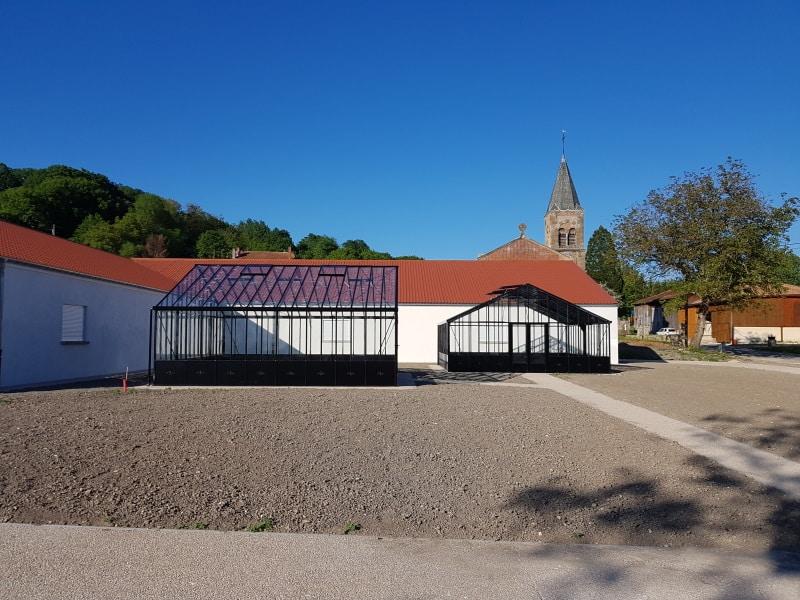 Implantation d'une serre de culture – Le Neufour (55 - la Meuse) vue 2