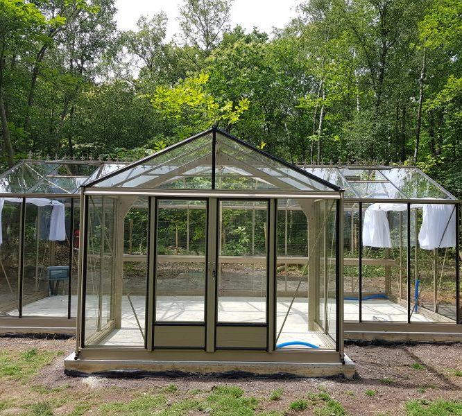 Implantation d'une serre de culture – Clairefontaine (78 – Yvelines)