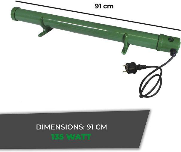 Détecteur de gel électrique 135 (Vue 1)