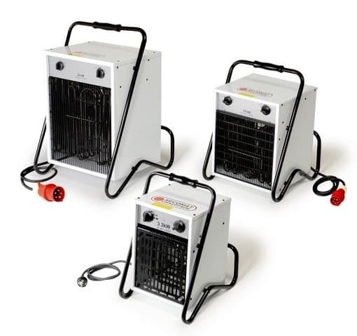 Générateurs d'air chaud pulsé portables électriques Monophasé (Vue 0)