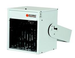 Générateurs d'air chaud pulsé électriques à suspendre Cuby Monophasé (Vue 0)
