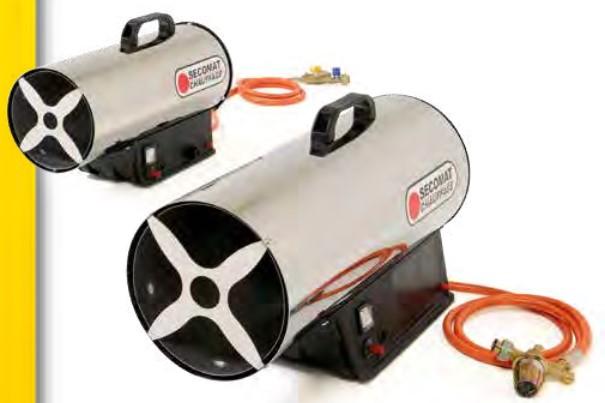 Générateurs d'air chaud pulsé portables au gaz propane à allumage manuel GM (Vue 0)