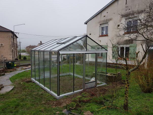 Serre de jardin de petite surface - 3,09x4,57m - Serre Arôme - 14,10m² (Vue 5)