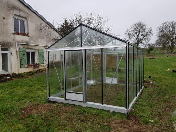Serre de jardin de petite surface - 3,09x6,04m - Serre Arôme - 18,6m² (Vue 6)