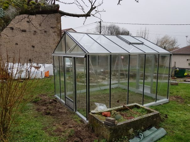 Serre de jardin de petite surface - 3,09x4,57m - Serre Arôme - 14,10m² (Vue 6)