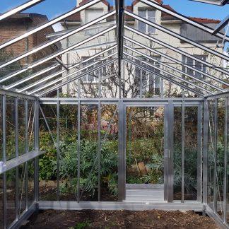 Serre de jardin de petite surface - 3,09x6,04m - Serre Arôme - 18,6m² (Vue 0)