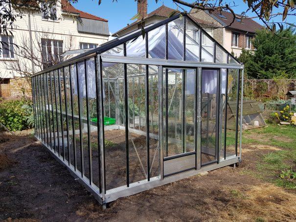 Serre de jardin de petite surface - 3,09x6,04m - Serre Arôme - 18,6m² (Vue 2)