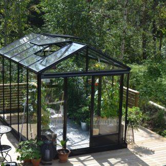 Serre de culture classique robuste – Structure aluminium - Serre Arôme (Vue 0)