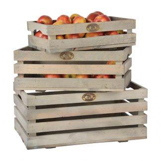 Set 3 cageots à fruits et légumes (Vue 0)