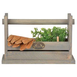 Caisse outils / Tabouret en bois (Vue 0)