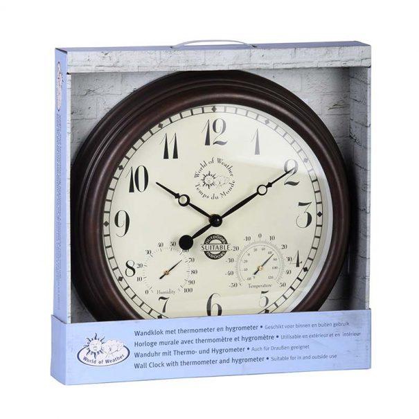 Horloge de Station avec thermo-hygromètre (Vue 0)