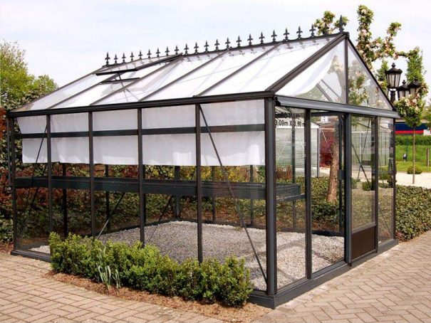 Serre de jardin de petite surface - 3,09x6,04m - Serre Arôme - 18,6m² (Vue 7)