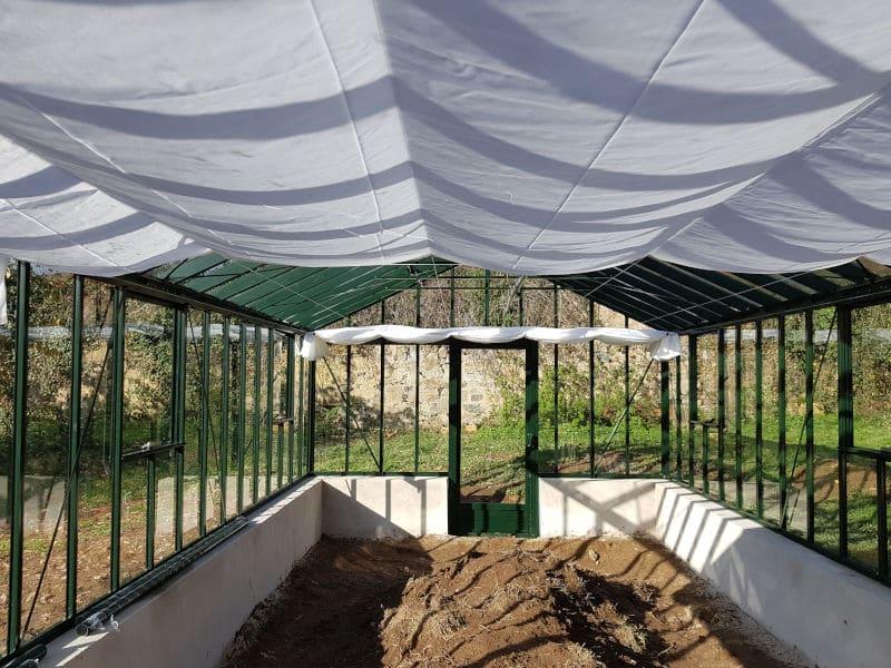 Réalisation d'une serre à l'ancienne - ONLAY (58 – Nièvre) vue 4