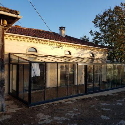 Réalisation d'une serre adossée – St Léon (31 – Haute-Garonne)