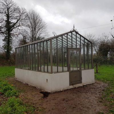 Installation d'une serre à l'ancienne – Ergue Gaberic (29 – Finistère)