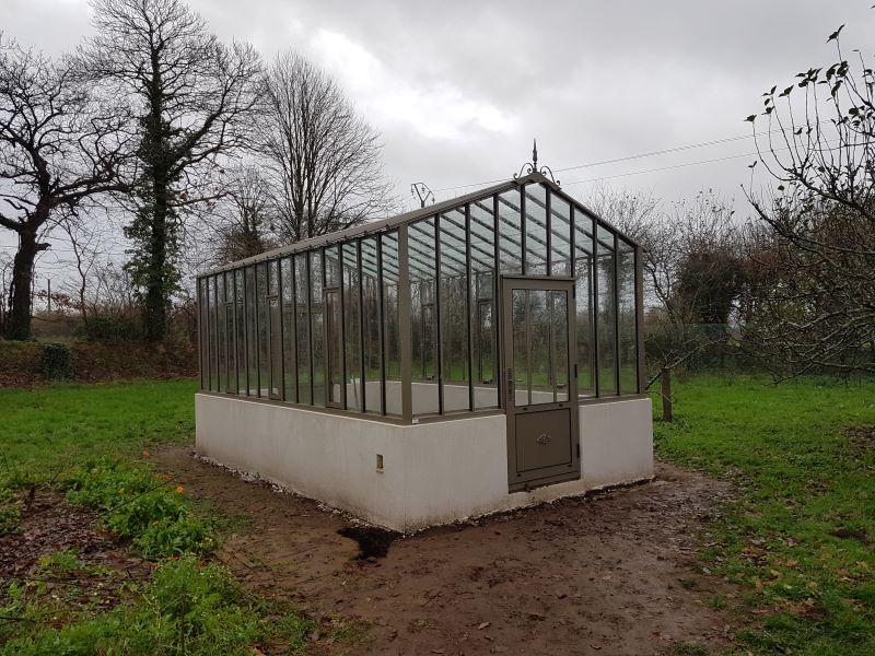 Installation d'une serre à l'ancienne - Ergue Gaberic (29 - Finistère) vue 2