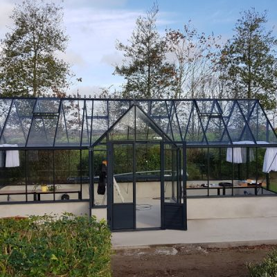 Installation d'une serre de culture pavillon – Kernoues (29 – Finistère)