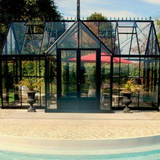 Pavillon au style victorien avec soubassement - Structure aluminium - Victorian Retro Victorian (Vue 0)