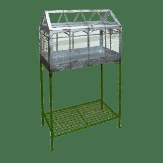 Mini serre sur pieds - Structure en fer - Serre sur pied L (Vue 0)