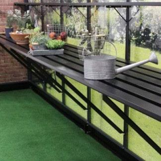 Table intégrée noire - pour modèle Premium Juliana 8.8m² (Vue 0)