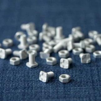 Vis et boulons en aluminium pour serre (Vue 0)