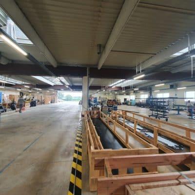 L'Atelier des Serres transfère l'ensemble de sa production dans un nouveau bâtiment !